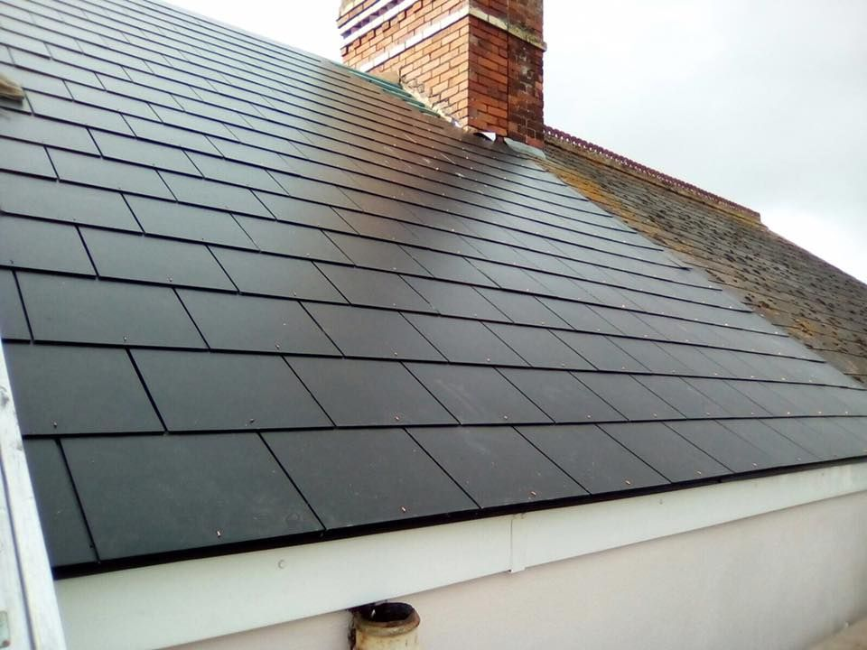 watchet slate roof